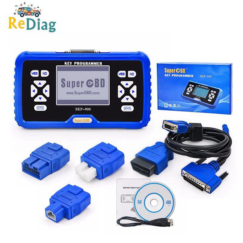 SuperOBD SKP900 SKP-900 Auto transponder chiave a distanza programmatore Supporto Quasi Tutte Le Auto Originale Ultima Versione V5.0 SKP 900