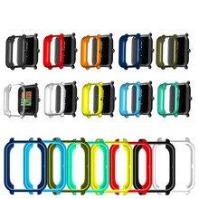 Tpu macio protetor de borda completa smartwatch caso escudo quadro para amazfit bip s/lite/u/pro gts 2 mini relógio protetor capa abundante