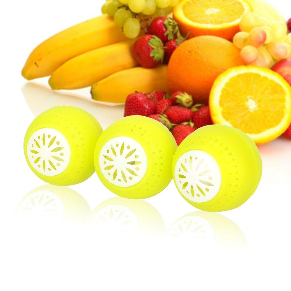 NICEYARD 3 шт./компл. шарики для холодильника очиститель воздуха для холодильника Ball сохраняют свежие кухонные аксессуары для фруктов и овощей