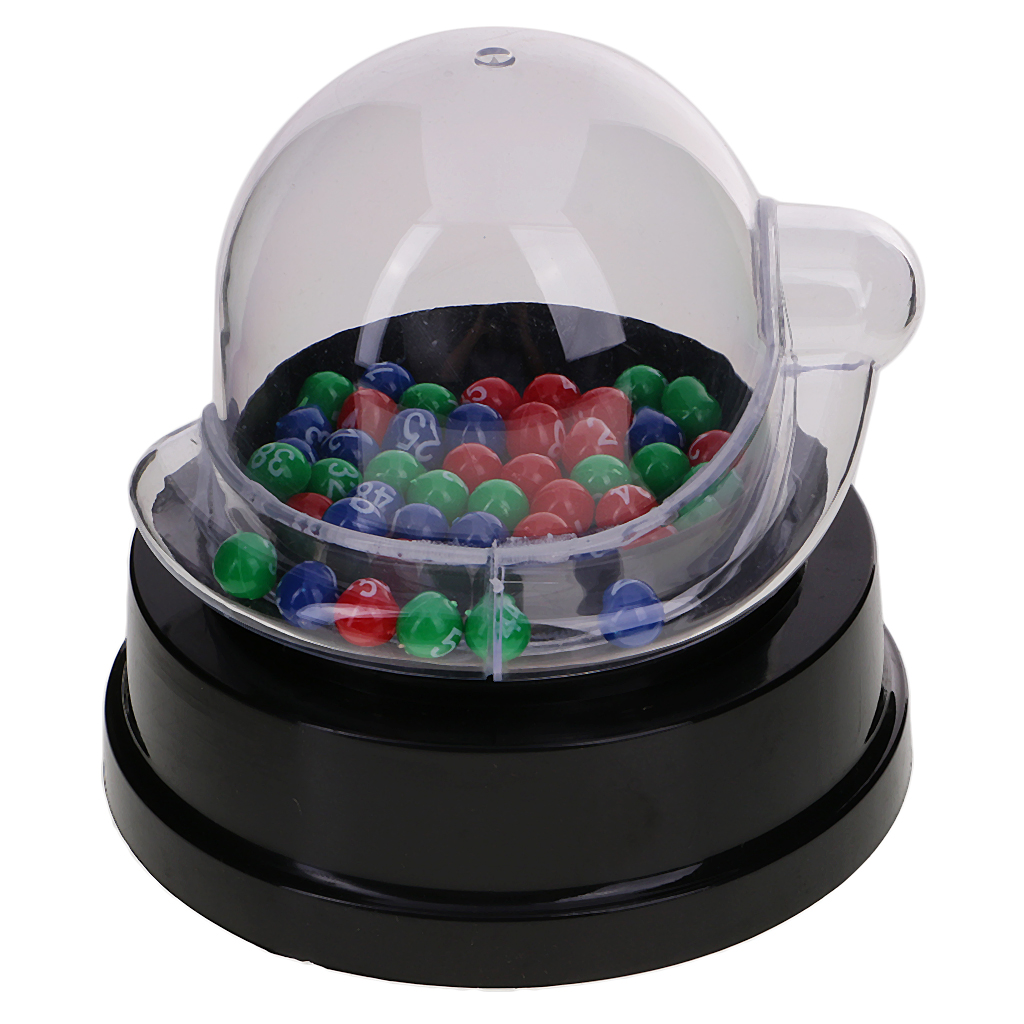 Premium Mini Electric Lucky Digital Picker + Color Ball Party Bingo Lucky Ball Game Bar Club Restaurant Cafe Game Supplies