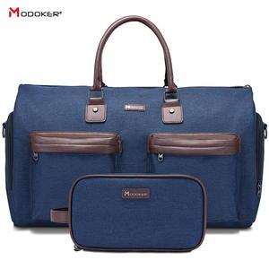 Garment-Bag Duffel Businesssuit-Bag Travel-Package Zipper Largefor Man with Shoe-Pocket