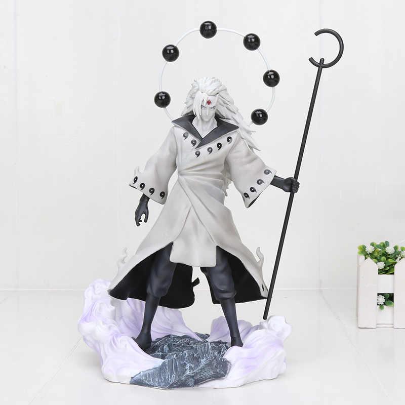 24-27 centimetri di trasporto Anime Naruto Action Figure Uchiha Obito Rikudousennin Itachi Sasuke PVC Modello Giocattolo Naruto Shippuden Figura Giocattoli regali
