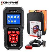 KONNWEI KW850 OBD2 Авто диагностический сканер Инструменты OBD 2 Автомобильный диагностический инструмент проверка двигателя Автомобильный сканер Код читатель черный
