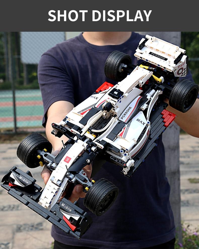 MOULD KING 13117 F1 Racing Car