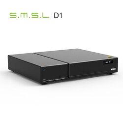 SMSL VMV D1 wysokiej klasy czysty układ DAC 2 * ES9038 PRO PCM768 DSD512 XMOS Hifi DAC optyczne USB Hi-end dekoder DAC z pilotem