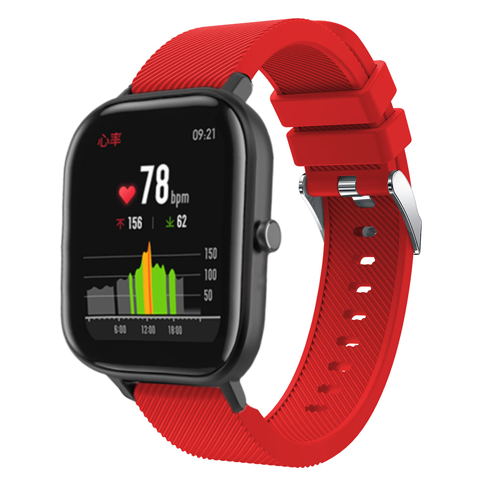 BEHUA Sport For Huami Amazfit GTS /GTR 42mm Smartwatch Bracelet Wristband For Garmin Vivoactive 3 /3 Music Wrist Strap Silicone