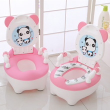 Children's Pot Soft Baby Potty Plastic Road Pot Infant Cute Baby Toilet Seat Boys And Girls Potty Trainer Seat WC 0-6 Years Old