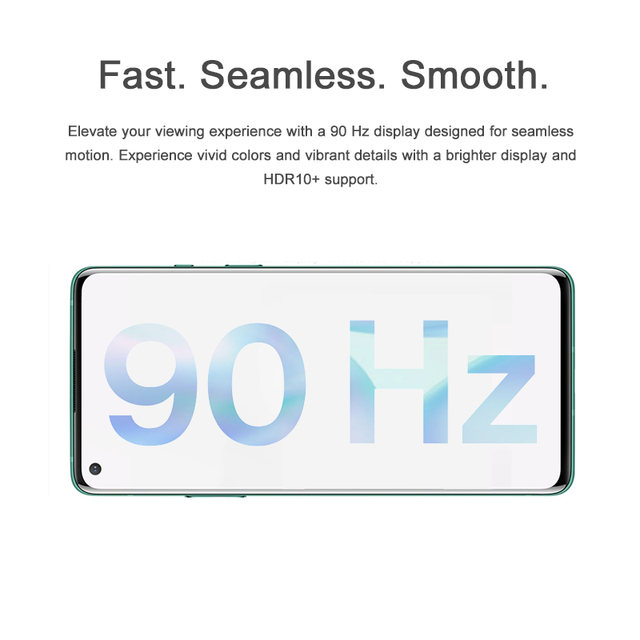 OnePlus 8 5G Smartphone Android 6.55 Snapdragon 865 Octa Core 8 go Ram 12 go Rom 48MP Triple caméras 4300mAh NFC téléphone portable