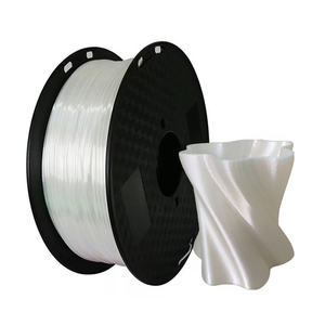 Image 4 - 1.75mm Silk Pla Filament 250g Shiny Metal like 0.25kg Black Red etc. 19 Colors Silk 3D Printer Filament for DIY Artwork Printing