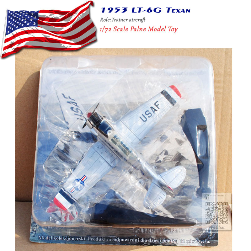 AMER 1 72 Scale North American 1953 LT 6G Texan Fighter Diecast Metal Plane Model Toy For Gift Collection Decoration in Diecasts Toy Vehicles from Toys Hobbies
