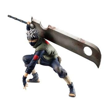 Figura de Kakashi Hatake con la espada de Zabuza de Naruto (16cm) Figuras de Naruto Merchandising de Naruto