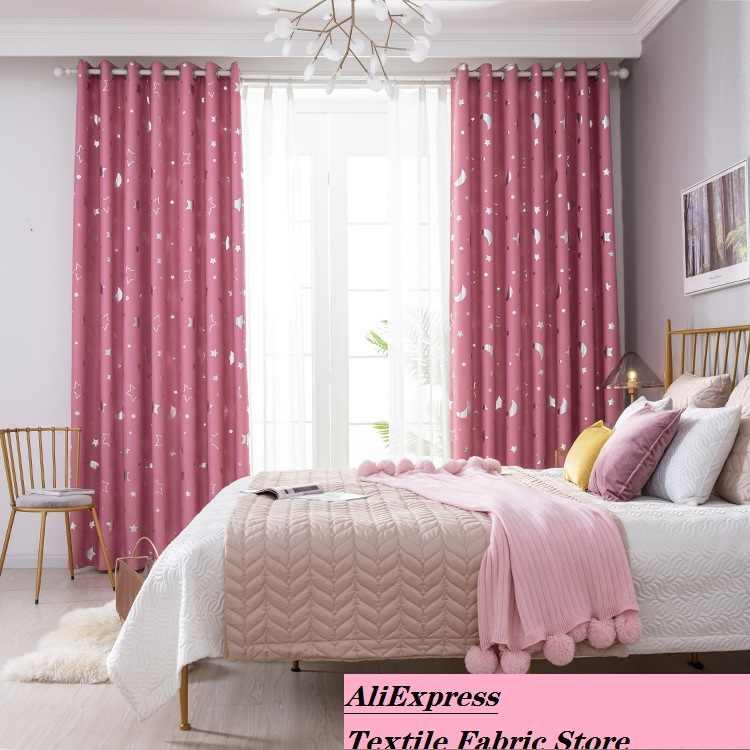 Ebay Explosionen Grossen Stars Schattierung Fertigen Vorhange Stehend Schlafzimmer Wohnzimmer Vorhange Aliexpress