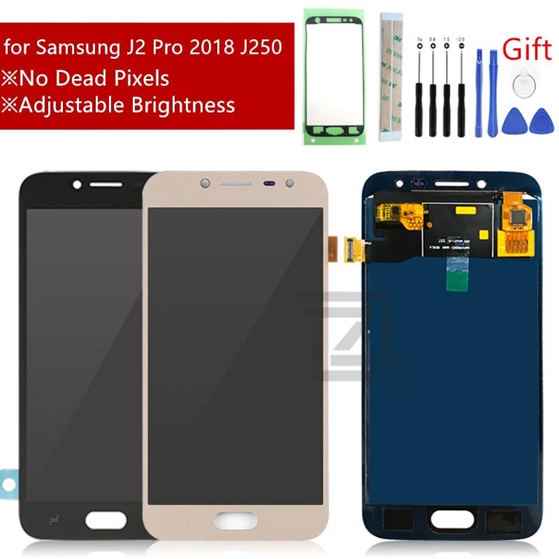 For Samsung Galaxy J2 Pro LCD Display 2018 J250 SM J250 Touch Screen Digitizer Assembly j250f Innrech Market.com