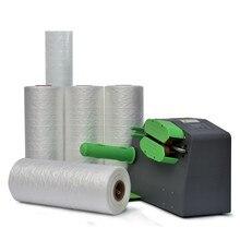 110V/220V Air Cushion Machine Buffer Bag Packing Film Making Machine Roll Packaging Bubble Wrap Air cushion Film Wholesale Price