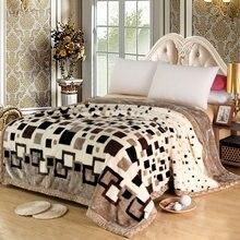 Одеяло из микрофибры, плюшевое волокно, флисовый ковер, декор для дивана, кровати, микро-одеяло для кровати, очень теплое, машинная стирка, комфорт