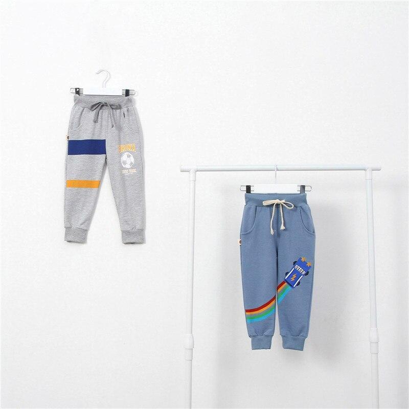 Baby Kids Childrens Fashion Toddler Classic Leggings Girls Pants Girls Kids Boys Girl Rainbow Printed Casual Long Pants Trousers