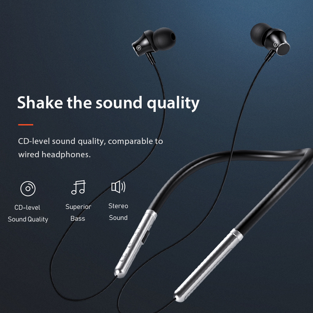 SANLEPUS Wireless Bluetooth Earphone Headphone Sport Headset HiFi Stereo Earbuds Auriculares For Phones Xiaomi iPhone Samsung