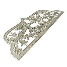 Снежинка крышка металлические режущие штампы Трафаретный Скрапбукинг
