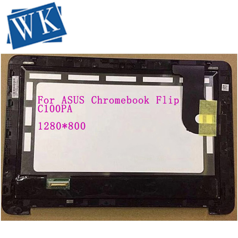 "US FOR 10.1/"" Asus Chromebook Flip C100PA C100P LCD Display Touch Screen Assembly"