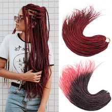 24Inch Box Braid Synthetic Ombre Braiding Hair Extension 24S