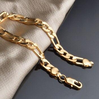wholesale Noble fashion silver color Gold color 8MM men Women Bracelet charm wedding chain high quality jewelry H200 1