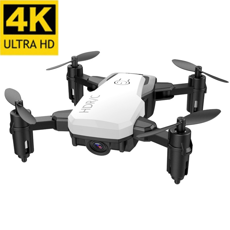 Drone 4k Profesional Foldable Camera Rc Helicopter 6ch Parts Remote Control Outdoor Fun Small Selfie 4k Drones With Camera Hd(China)