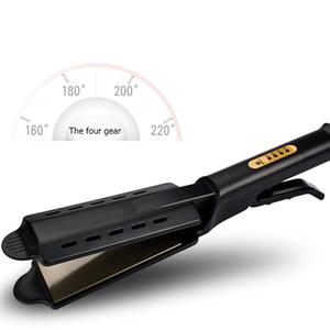 Image 5 - Alisador de cabello profesional de cuatro engranajes de calentamiento rápido Cerámica turmalina herramienta de alisado de cabello de hierro plano iónico