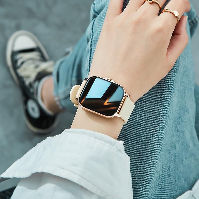 H7d9fc527382b4f8686d9cb72373b48e7f Reloj Inteligente Mujer Smartwatch Android Men 2021 Smart Watch Man Bluetooth Call Smartwatch Women For Xiaomi Mi Phone GTS 2