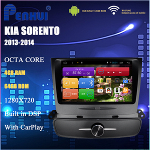 Image 1 - Car DVD for Kia Sorento ( High match ) 2013 2014 Car Radio Multimedia Video Player Navigation GPS Android 10.0 Double