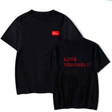 Love yourself Футболка kpop, KPOP JUNG худи KOOK Love Yourself пуловер Bangtan Boys толстовки Свитшот Женская толстовка