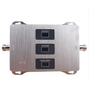 Image 3 - נייד 2G 3G 4G Tri Band אות משחזר 900 1800 2100 מאיץ GSM DCS WCDMA אות סלולארי מגבר עם אנטנה מלא סט