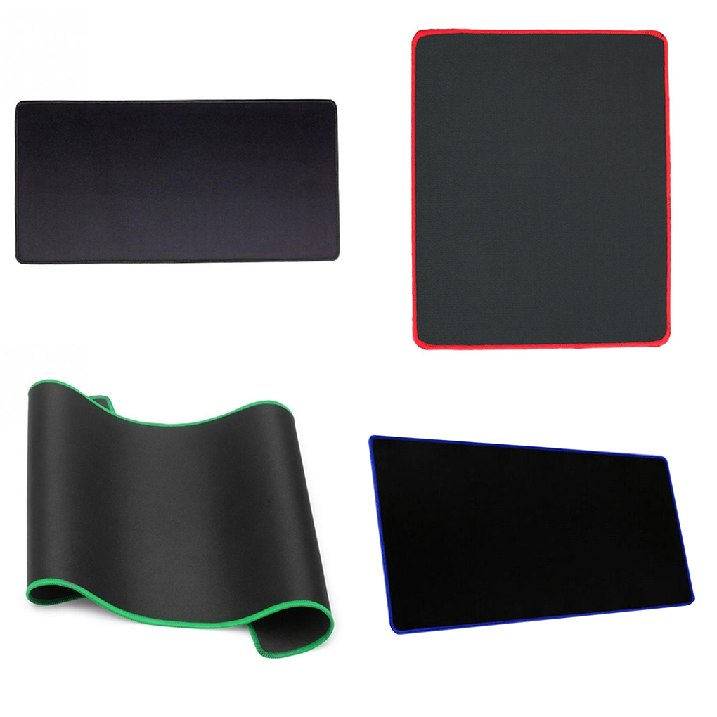 1Pcs Hot Non Slip Wear Resistant Computer Notebook Soft Edge Seamed Mouse Pad Office Rubber Fabric Mat