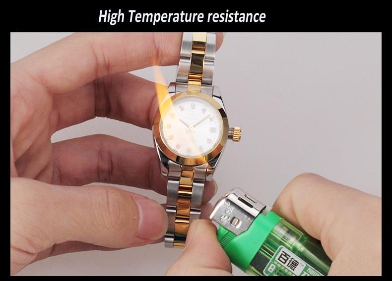 GUANQIN Luxus Liebhaber uhren Original Top Marke Luxus Paar Uhren Armbanduhr Mode Wasserdicht Männer und Frauen Armbanduhren - 6