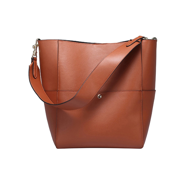 Genuine Leather Women Shoulder Bags fashion Large Capacity Cow Leather Ladies Handbags Female High Quality Casual Tote