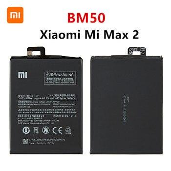 Xiao mi 100% Orginal BM50 5300mAh Battery For Xiaomi Mi Max 2 Max2 BM50 High Quality Phone Replacement Batteries high quality for xiao mi bm51 battery 5400mah in stock