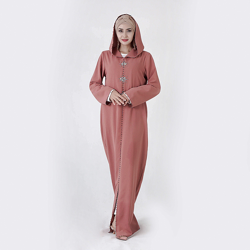 Hijab Dress Robe Kaftan Turkey Islam Clothing Ramadan Abaya Dubai Musulman Muslim Femme