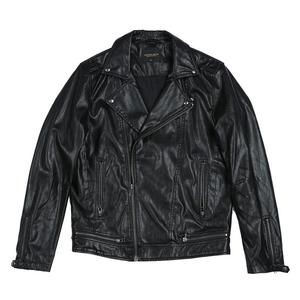 Image 5 - SIMWOOD 2020 spring New Slim Fit PU Leather Biker Jacket Motorcycle Fashion Zipper Streetwear High quality brand clothes 980652