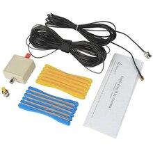 FFYY-LW1650 с адаптером маленький радиоприемник Коротковолновая антенна легкая простая установка портативный Практичный Прочный Длинный кемпинг