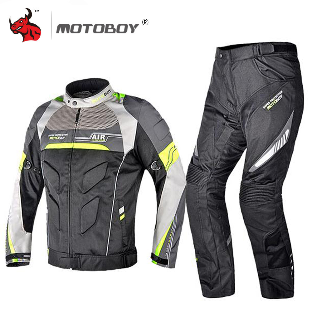 MOTOBOY אופנוע מעיל קיץ Moto מעיל גוף שריון רעיוני מוטוקרוס מעיל לנשימה רכיבה מירוץ הגנה עבור גברים