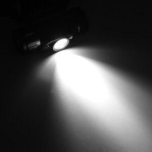 Image 5 - BORUiT RJ 020 XPE LED indüksiyon far 1000LM hareket sensörü far 18650 şarj edilebilir baş feneri kamp avcılık el feneri