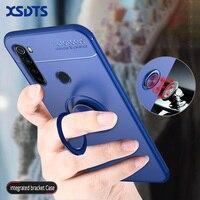 Custodia per Xiaomi Redmi Note 9 9s 8 8T 7 6 5 8A 7A 6A 5A 9A 9C K20 Pro Max 4 4X 4A S2 TPU supporto magnetico per auto supporto per telefono Coque