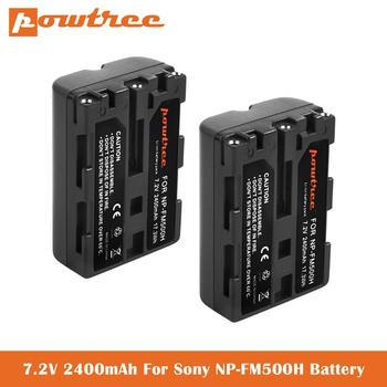 Batería de NP-FM500H de 2400mAh para cámara Digital Sony Alpha A900 A57...