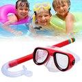 HOT!!! Kinder Junior Schwimmen Schwimmen Tauchen Brille Glas Maske Unterwasser Anti Nebel Schnorcheln Tauchen Maske Für Schwimmen-in Tauchmasken aus Sport und Unterhaltung bei