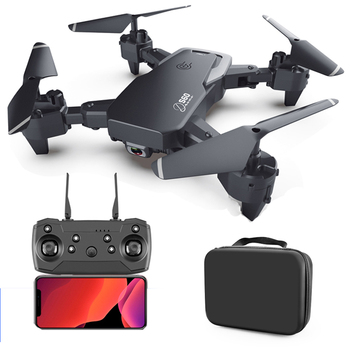 RC Drone 4k HD Wide Angle Camera S60 RC Quadcopter 1080P WiFi FPV Dual Camera Drone Long Flight Time Smart Follow RC Helicopter fayee smart egg wifi fpv rc quacopter black