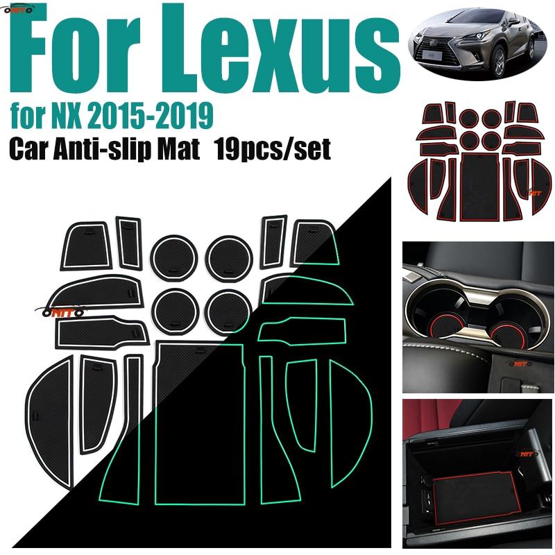 Solar Cup Holder Bottom Pad LED Light Cover Trim Atmosphere Lamp For All car JC