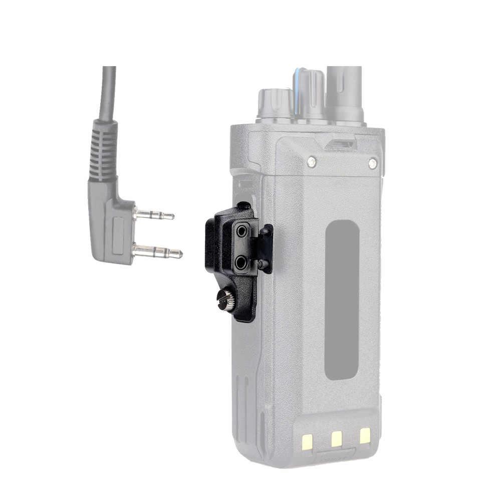 Audio Adaptor dari Ailunce HD1 GP328Plus Retevis RT29 RT48 RT82 Konektor untuk Kenwood 2 Pin Konektor