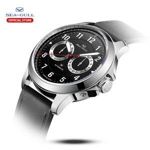 Image 2 - Seagull zegarek męski automatyczny zegarek mechaniczny 100m wodoodporny zegarek zegarek biznesowy męski zegarek 2019 męski zegarek 816.27.1012H