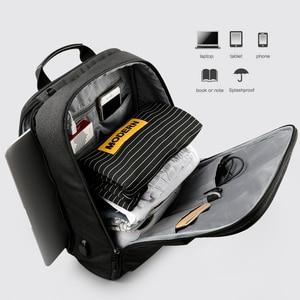 "Image 5 - Tigernu Brand USB Charge Men Backpack Anti theft Mochila 1415""Notebook Backpack Splashproof Male Backpack Women school bag"