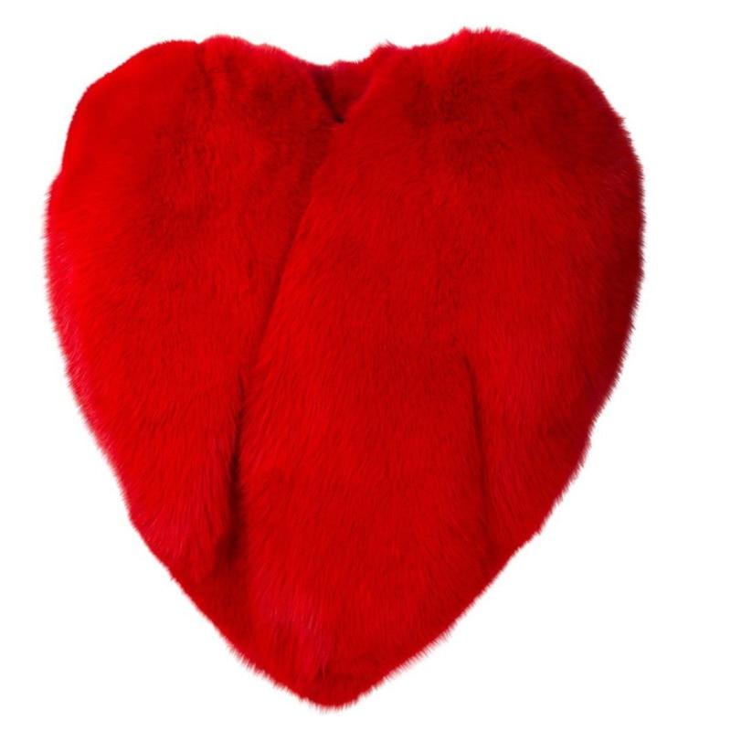EWQ / 2020 New Spring Heart Pattern Personality O Collar Zipper Sleeveless Exaggeration Coat Women Fashion Tide OB140