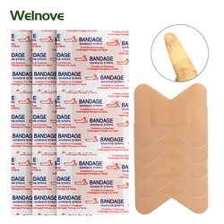 5/10/15/25pcs New Medical Waterproof Band-Aids Bandages Anti-Bacteria Wound Plaster Dressing Band Home Travel Emergency Kits